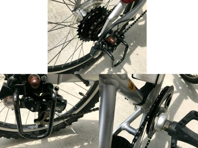 ルイガノj206キッズ自転車詳細画像3