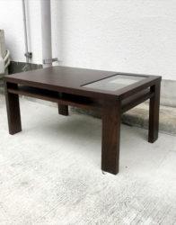 エーフラットガラスローテーブル
