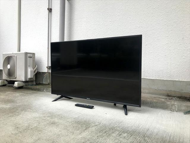 ハイセンス50インチ4Kテレビ2018年製