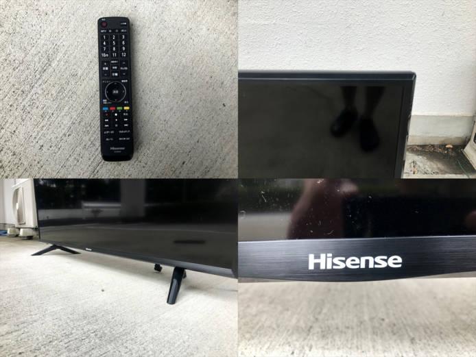ハイセンス50インチ4Kテレビ2018年製詳細画像4