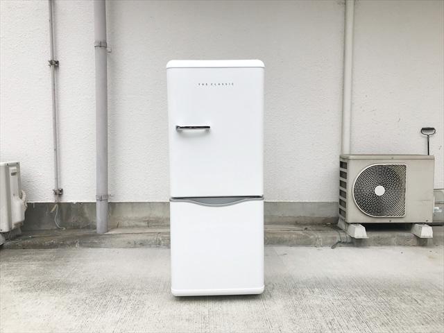 ダイウーレトロスタイル2ドア冷蔵庫DR-C15