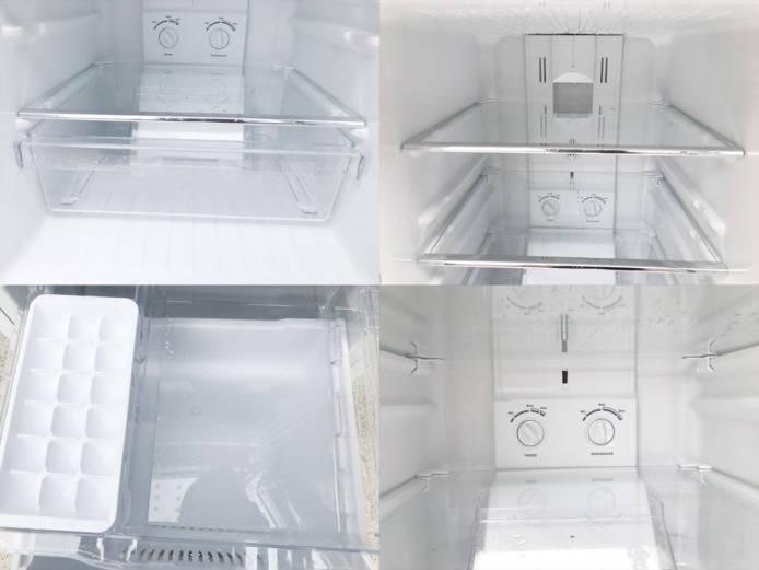 ダイウーレトロスタイル2ドア冷蔵庫DR-C15詳細画像2