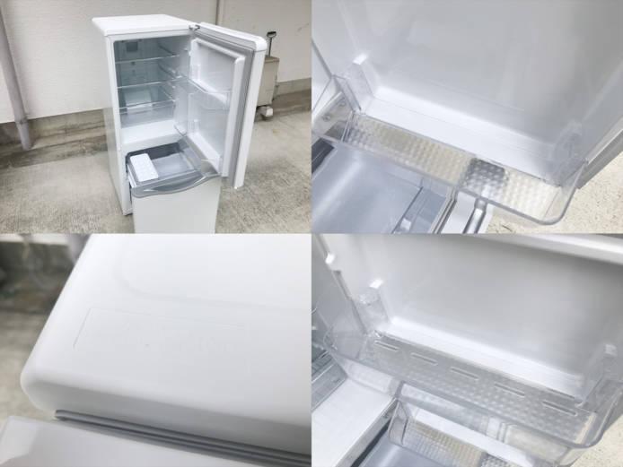 ダイウーレトロスタイル2ドア冷蔵庫DR-C15詳細画像3