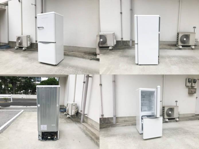 ダイウーレトロスタイル2ドア冷蔵庫DR-C15詳細画像5