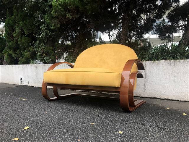 ドイツ製曲木デザイン2シーターソファ