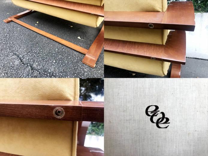 ドイツ製曲木デザイン2シーターソファ詳細画像1