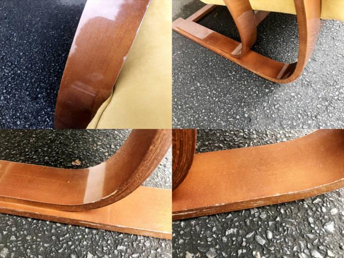 ドイツ製曲木デザイン2シーターソファ詳細画像3