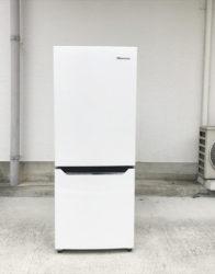 ハイセンス150リットル容量2ドア冷蔵庫