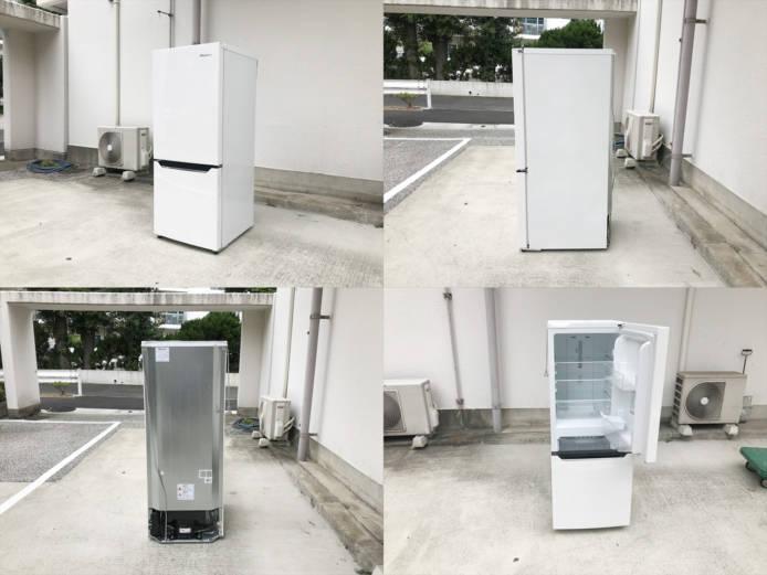 ハイセンス150リットル容量2ドア冷蔵庫詳細画像4