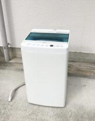 ハイアール2017年製4.5キロ縦型洗濯機