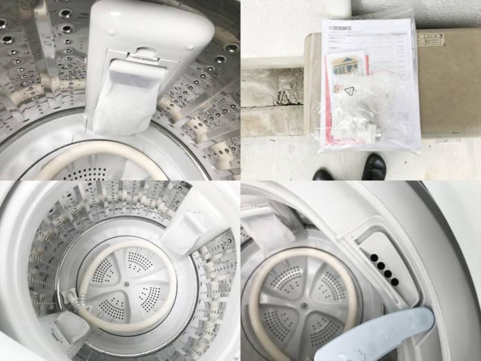 ハイアール2017年製4.5キロ縦型洗濯機詳細画像2