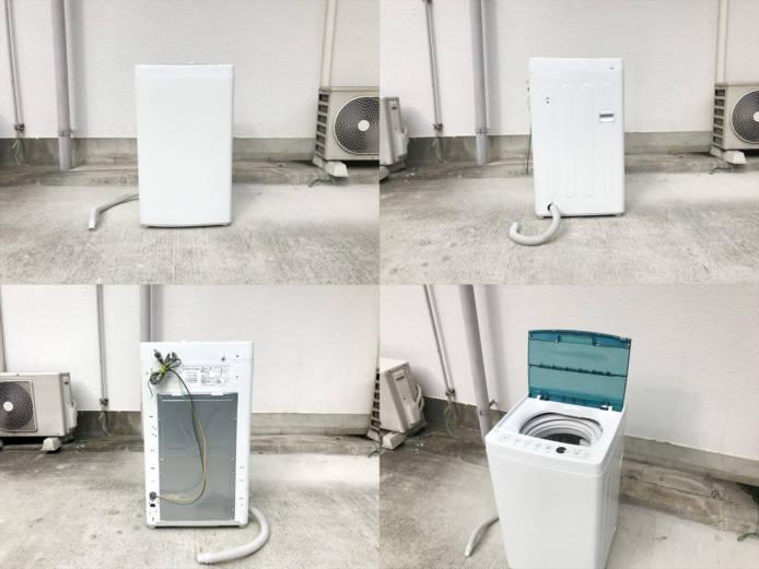 ハイアール2017年製4.5キロ縦型洗濯機詳細画像5