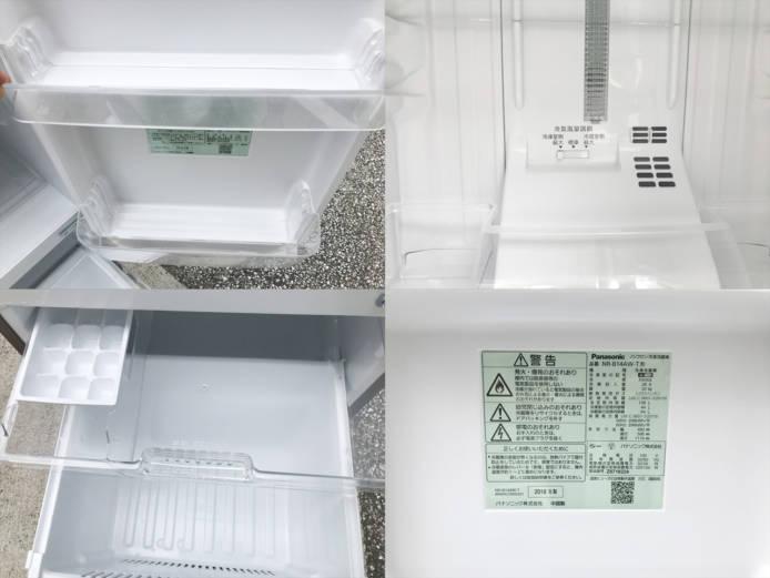 パナソニックパーソナル2ドア冷蔵庫詳細画像2