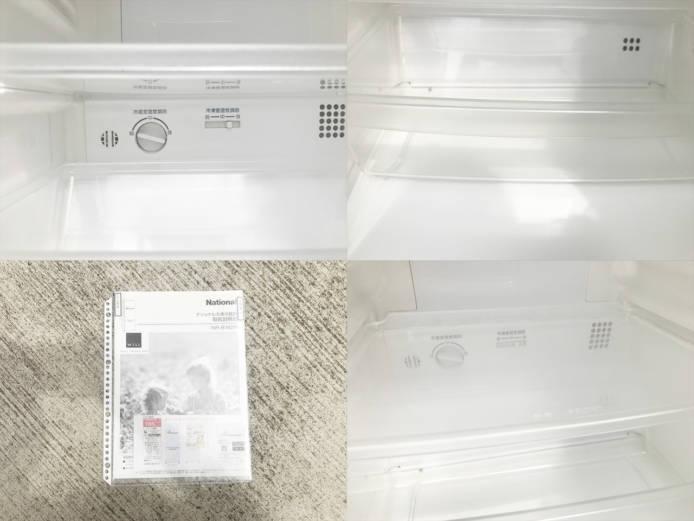 ナショナルウィルフリッジミニ2ドア冷蔵庫詳細画像2
