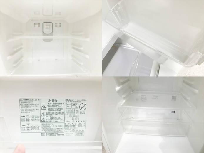 ナショナルウィルフリッジミニ2ドア冷蔵庫詳細画像3