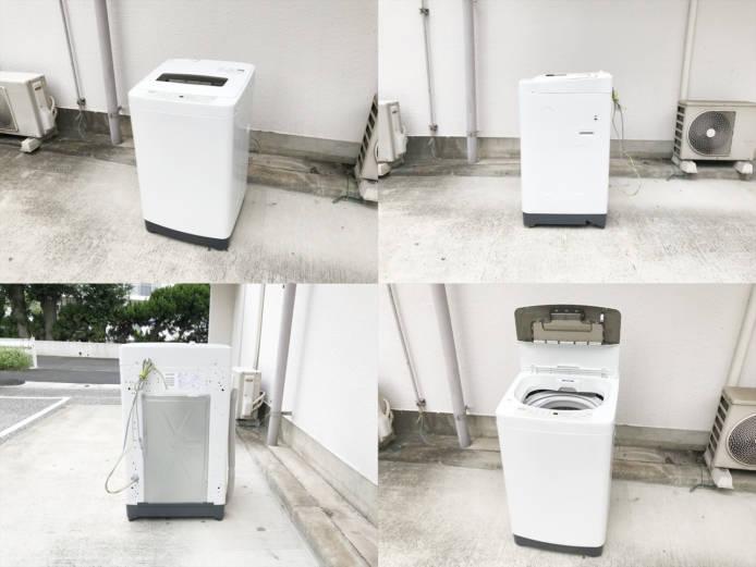 ハイアール7キロ全自動洗濯機2015年製詳細画像3
