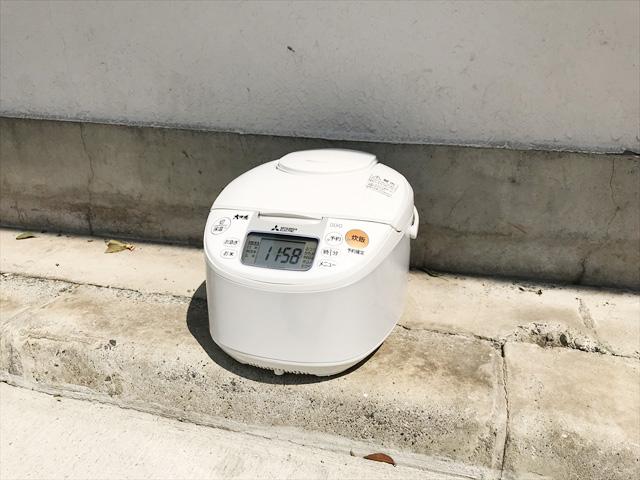 三菱5.5合炊飯器大沸騰IH