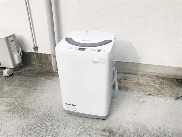 シャープイオンコート全自動洗濯機2014年製