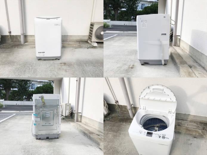 シャープイオンコート全自動洗濯機2014年製詳細画像3