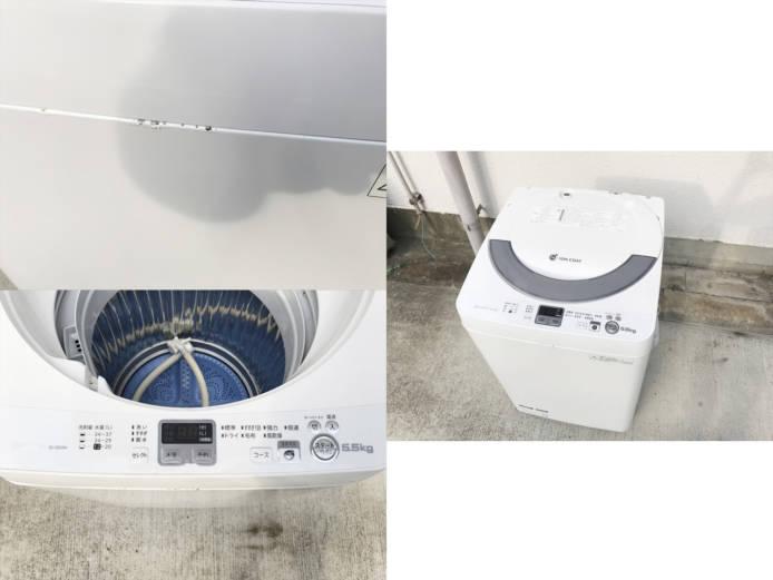 シャープイオンコート全自動洗濯機2014年製詳細画像4