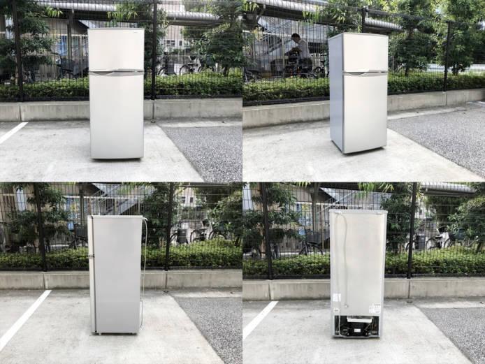 シャープトップフリーザー2ドア冷蔵庫2013年製詳細画像1