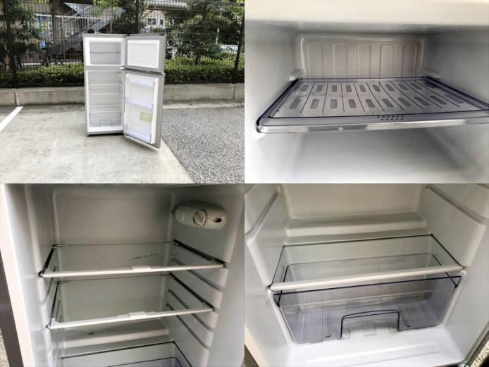 シャープトップフリーザー2ドア冷蔵庫2013年製詳細画像3