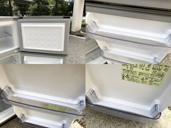 シャープトップフリーザー2ドア冷蔵庫2013年製詳細画像4