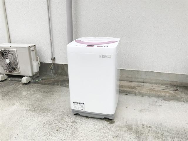 シャープ6キロ全自動洗濯機ES-GE6A