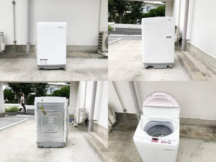 シャープ6キロ全自動洗濯機ES-GE6A詳細画像4