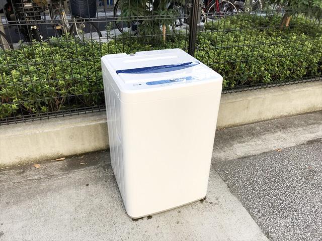 ヤマダ電機ハーブリラックス5キロ全自動洗濯機