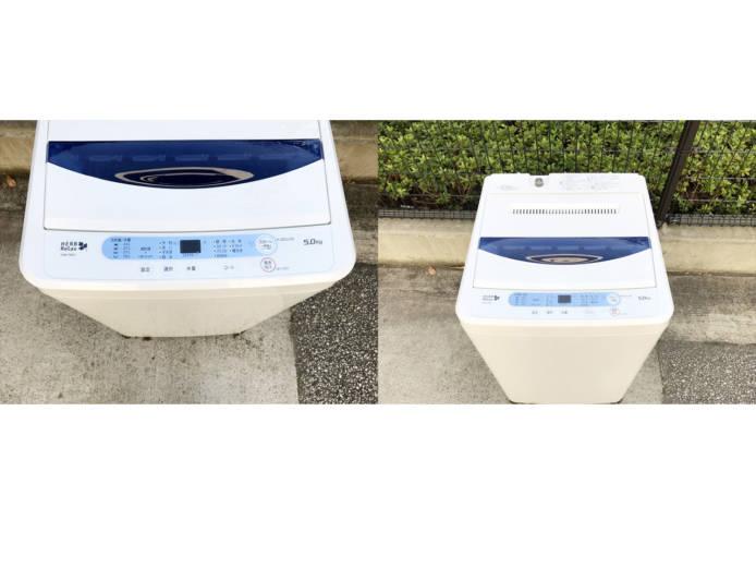 ヤマダ電機ハーブリラックス5キロ全自動洗濯機詳細画像4