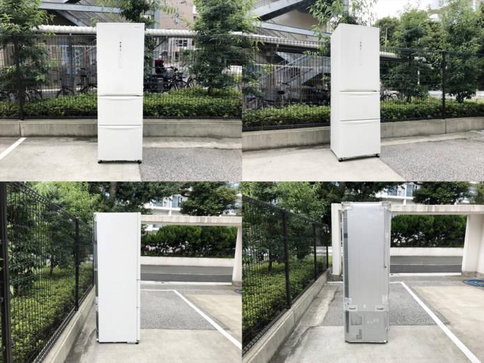 パナソニックノンフロン3ドア冷凍冷蔵庫詳細画像1