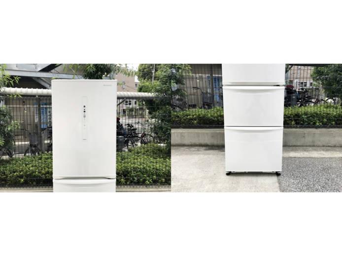 パナソニックノンフロン3ドア冷凍冷蔵庫詳細画像2