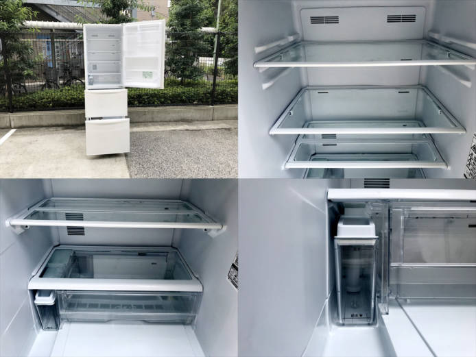 パナソニックノンフロン3ドア冷凍冷蔵庫詳細画像4