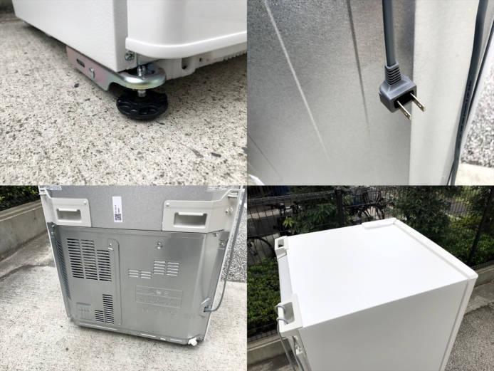 パナソニックノンフロン3ドア冷凍冷蔵庫詳細画像8