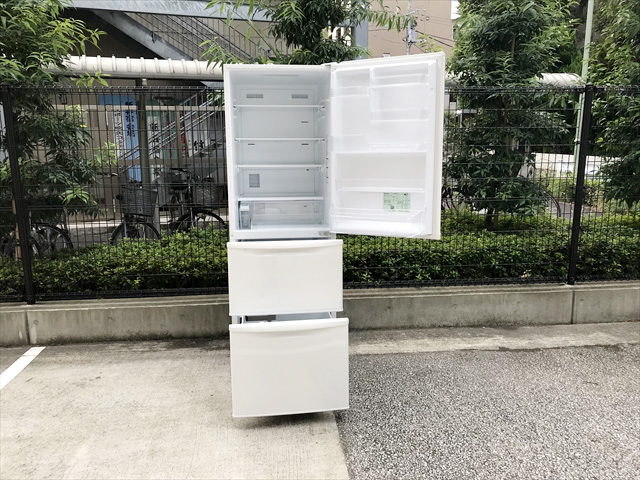ノンフロン3ドア冷凍冷蔵庫