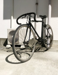 FUJIのFEATHERシングルスピードバイク
