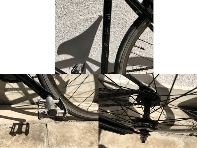 FUJIのFEATHERシングルスピードバイク詳細画像5