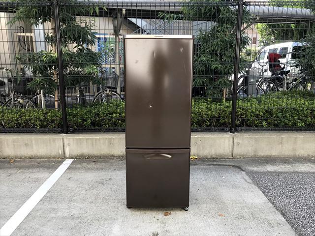 パナソニックパーソナル2ドア冷蔵庫168リットル
