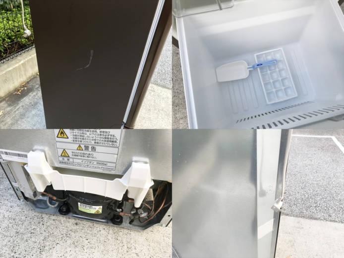 パナソニックパーソナル2ドア冷蔵庫168リットル詳細画像1