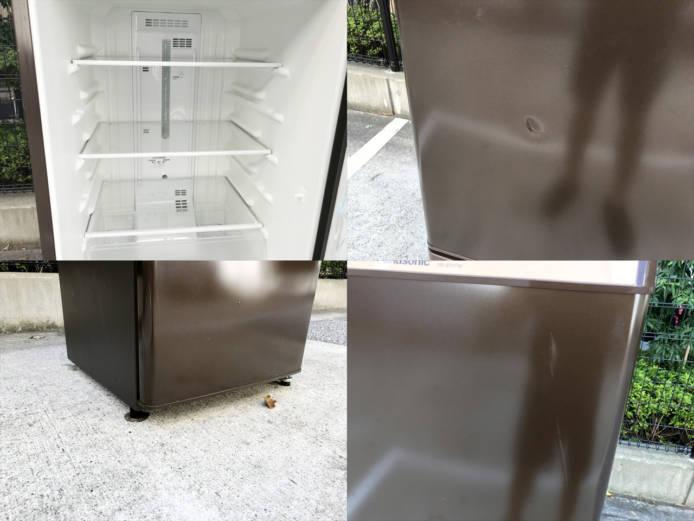 パナソニックパーソナル2ドア冷蔵庫168リットル詳細画像3