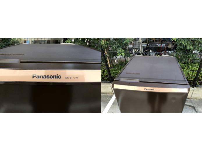 パナソニックパーソナル2ドア冷蔵庫168リットル詳細画像4