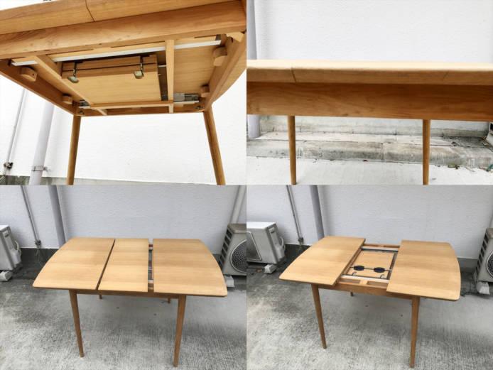 モモナチュラルダイニングテーブルとチェアセット詳細画像6