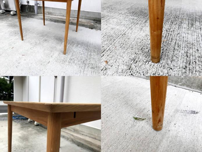 モモナチュラルダイニングテーブルとチェアセット詳細画像7
