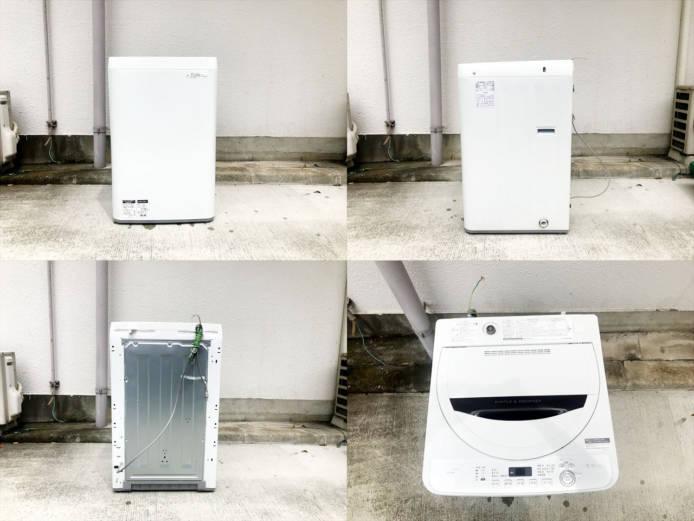 シャープ5.5キロ全自動洗濯機コンパクトボディ詳細画像3