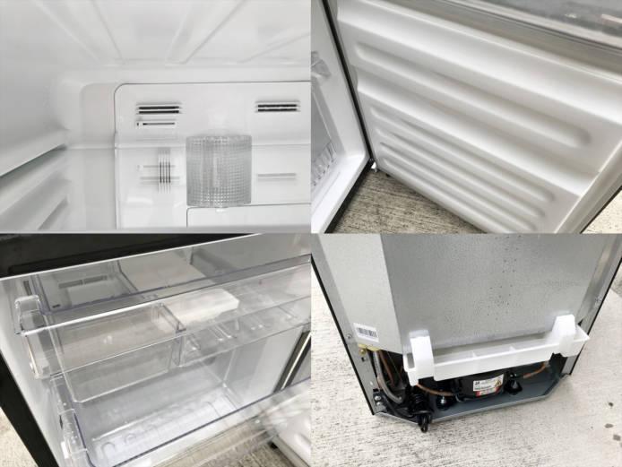 ユーイング2ドア冷蔵庫110リットル右開き詳細画像1