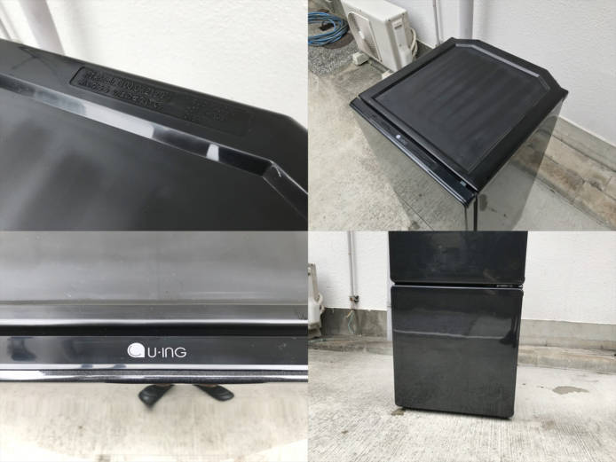 ユーイング2ドア冷蔵庫110リットル右開き詳細画像3