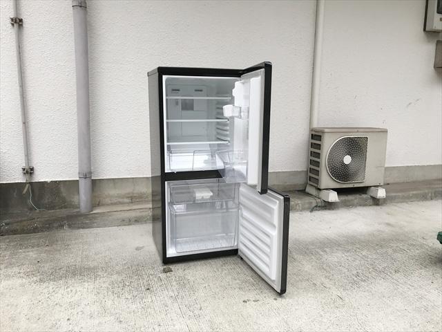 2ドア冷蔵庫110リットル右開き