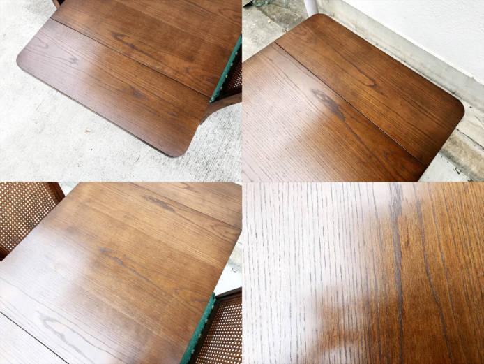 ブルージュダイニングテーブルとサイドチェア詳細画像6