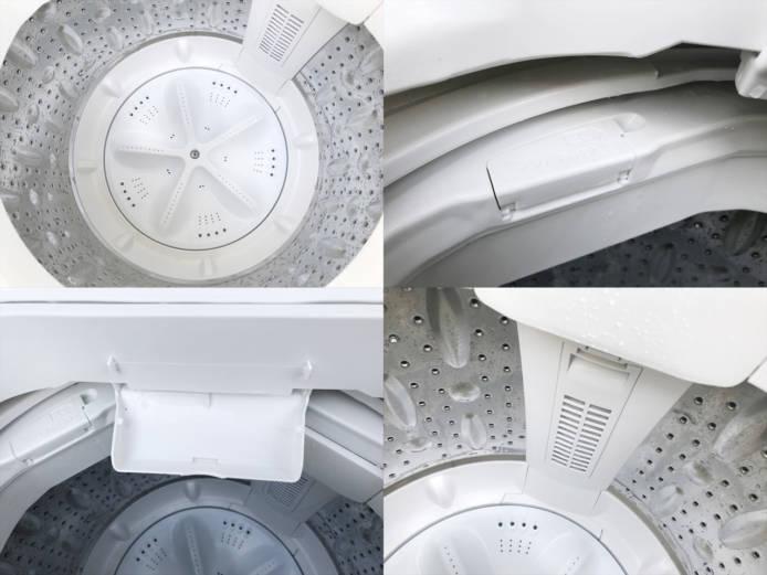 ハーブリラックスヤマダ電機4.5キロ縦型洗濯機詳細画像2